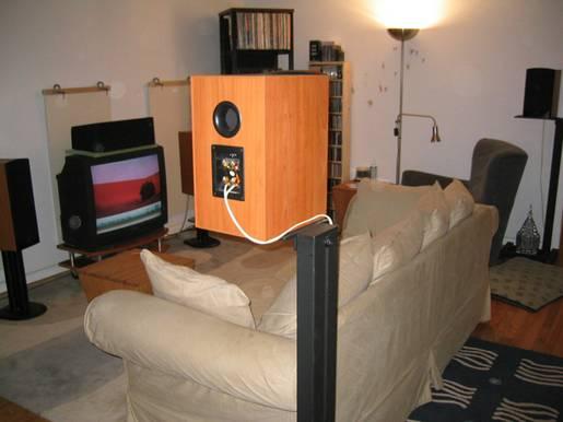 Back View of Woochifer's Setup