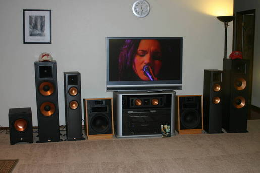 Norah Jones and my Wall Of Klipsch