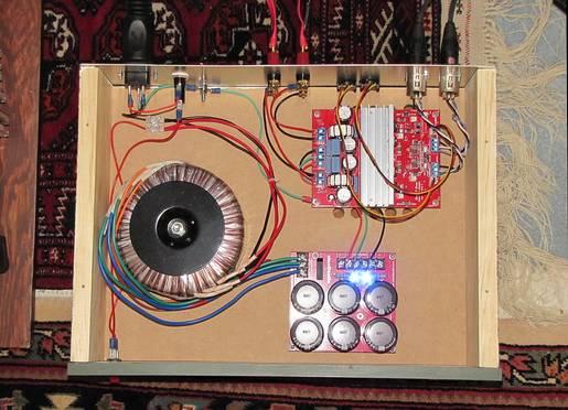 Class-D-Audio SDS-258 amplifier