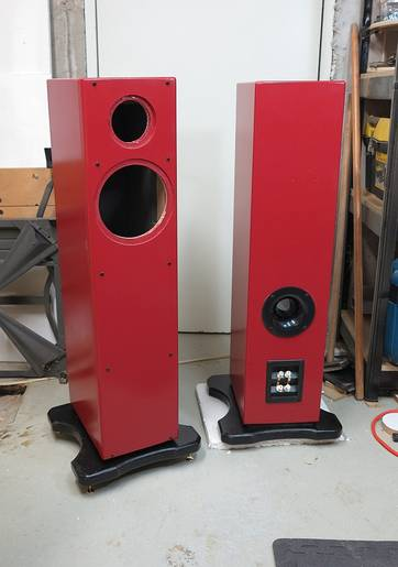 DIY speakers based on ZRT design