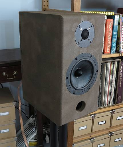DIY speakers in my stereo system