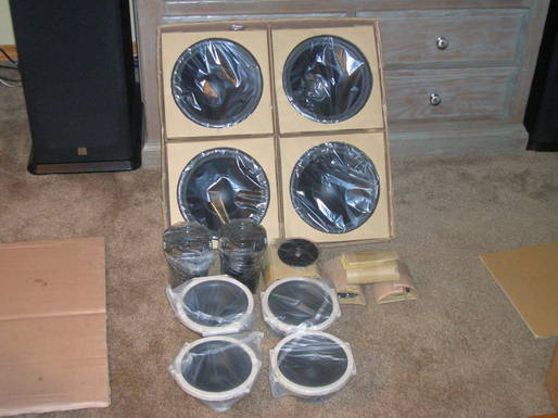 Replacement speakers for the Eosones