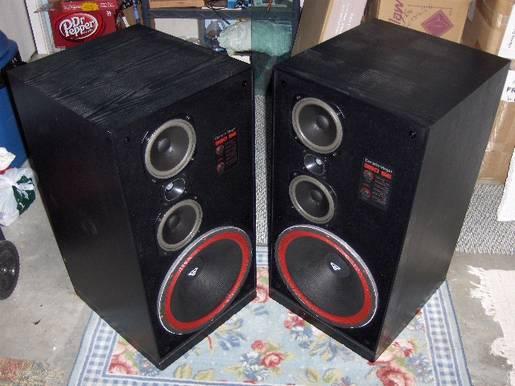 Cerwin Vega 380SE Loudspeakers Vintage 1987