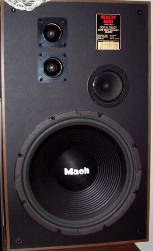 Realistic Mach 5000 loud speakers