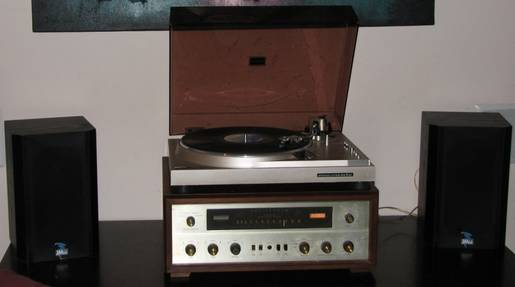 Fisher 500c with Marantz TT