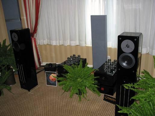 Merlin Speakers  JPS Labs