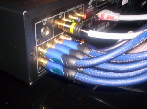 Denon DVD2910 5.1 Audio Connection